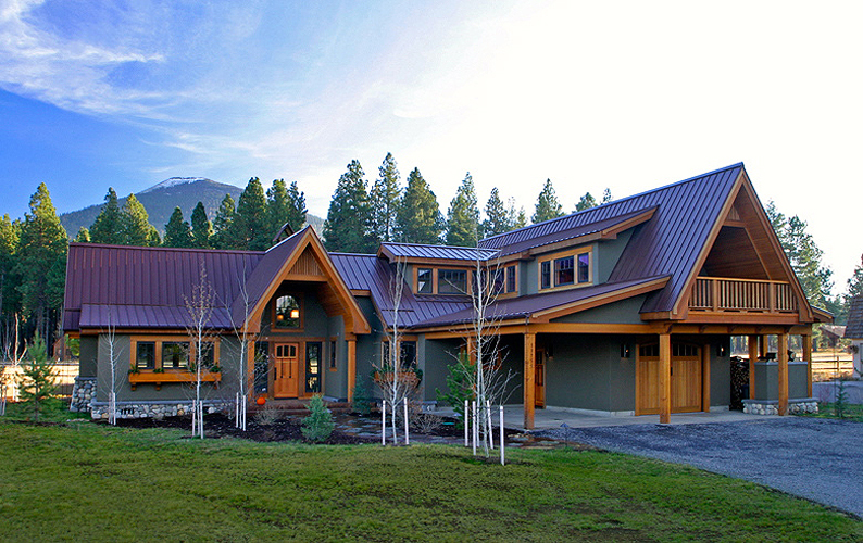 camp sherman oregon architecture