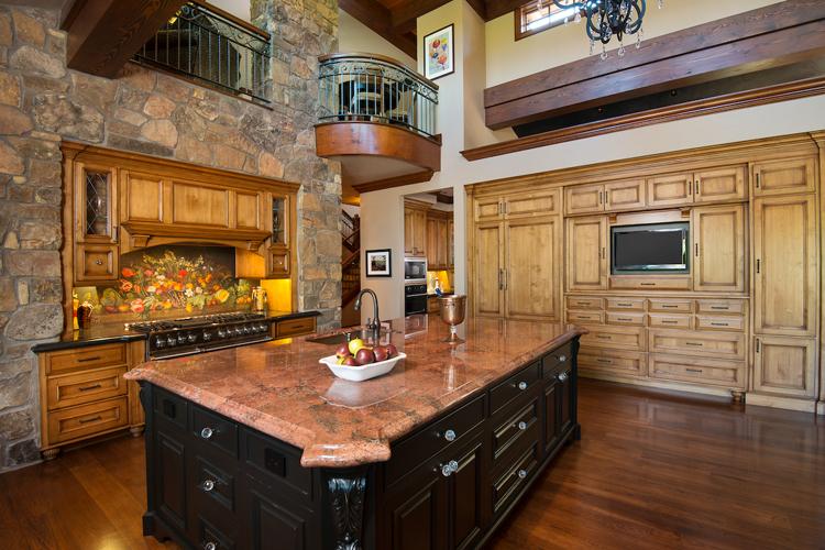 central oregon stone lodge architect