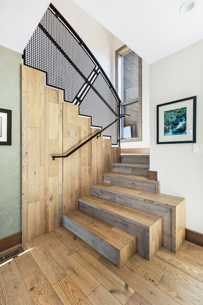Oregon Modern Design waterfall stair