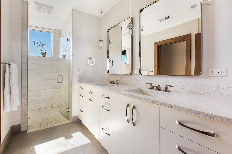 Oregon Modern Design bath cabinets