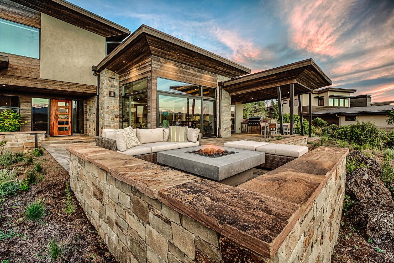 Oregon Modern Design fire pit
