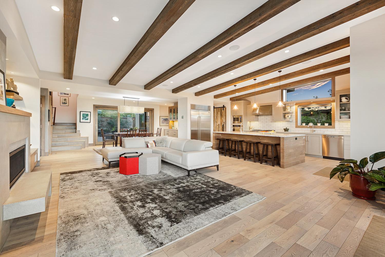 Oregon Modern Design hardwood floor