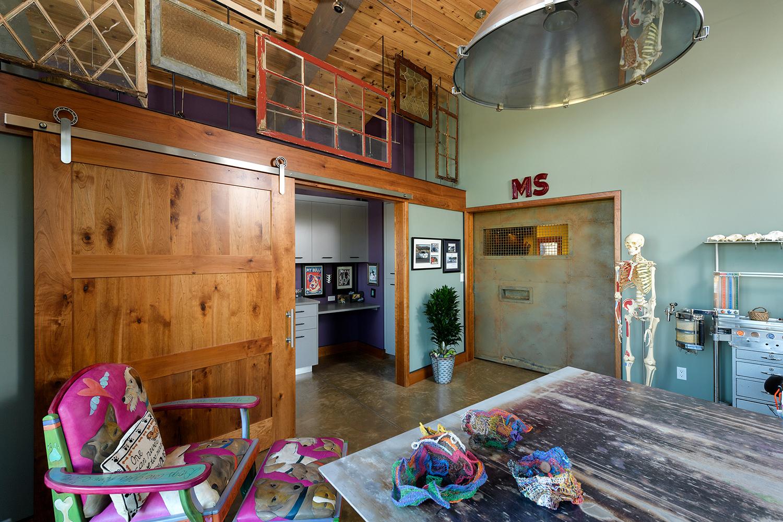 reuse old windows steel workspace
