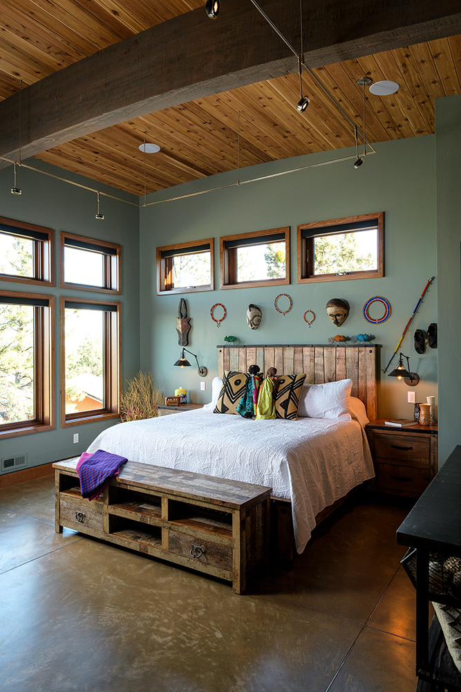 master bedroom bedwall