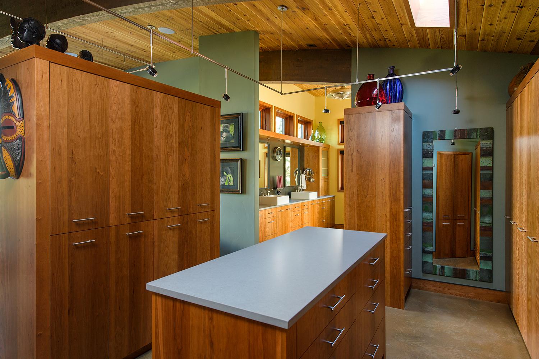 enclosed closet storage