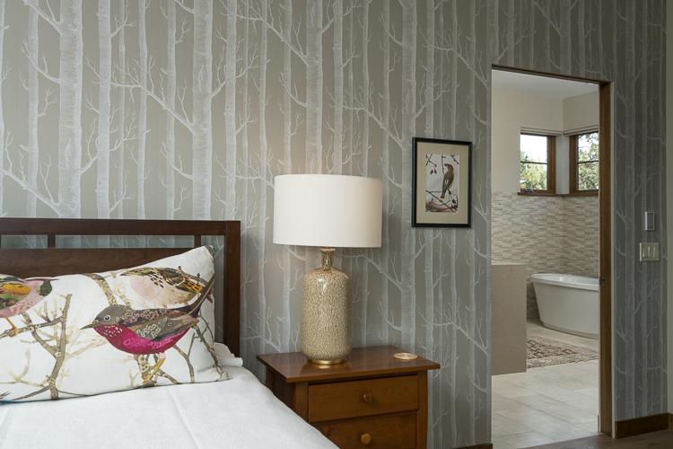 wallpaper master bedroom