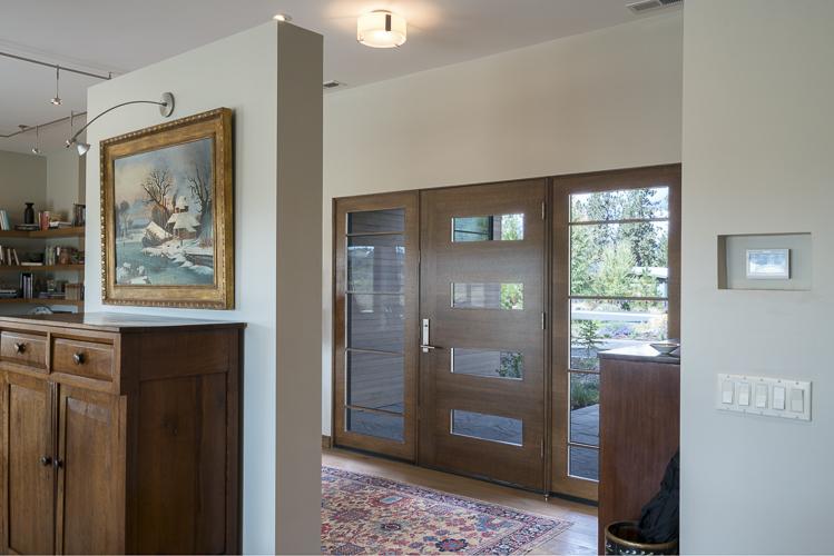 front door oak