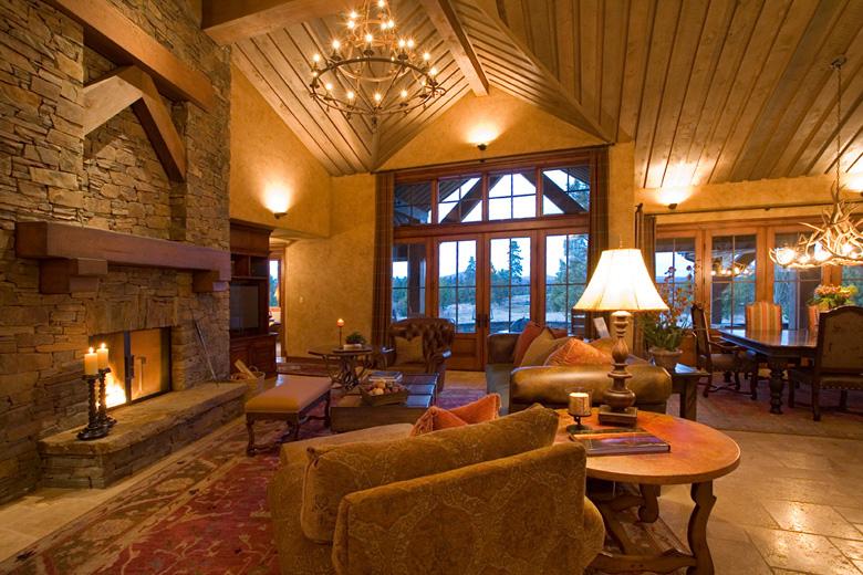 Bend Oregon Ski Lodge Architects