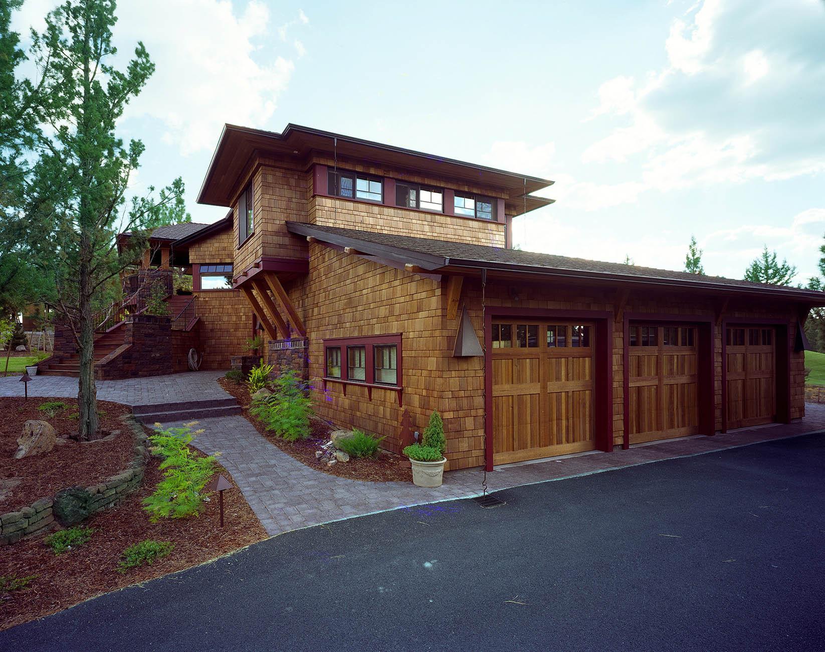 Central Oregon Lodge Architecture